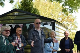 Keston Allotments has a new Community Shed!