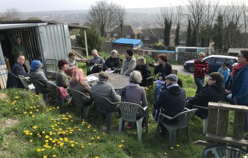 Craven Vale & Whitehawk Hill Allotment Society Annual General Meeting, 7 April 2019