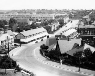 Looking into the 'dip' at Hollingdean 1930s
