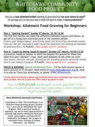Whitehawk Community Food Project