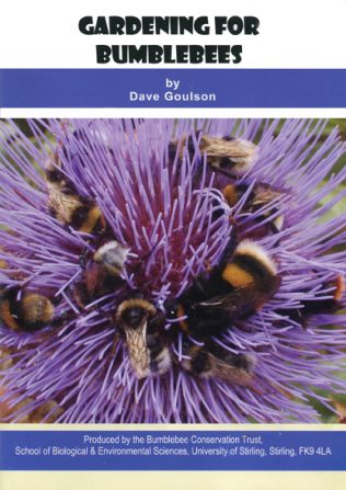 Gardening for Bumblebees by Dave Goulson