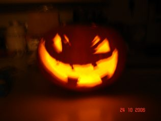 Pumpkin at night ! | Diane D