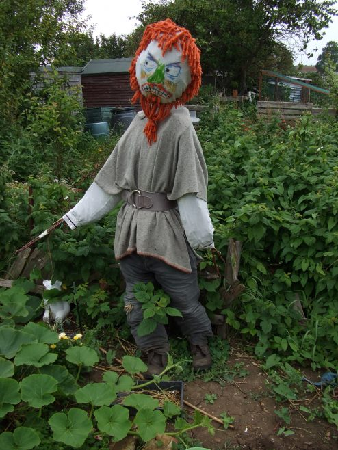 Scarecrow competition winner