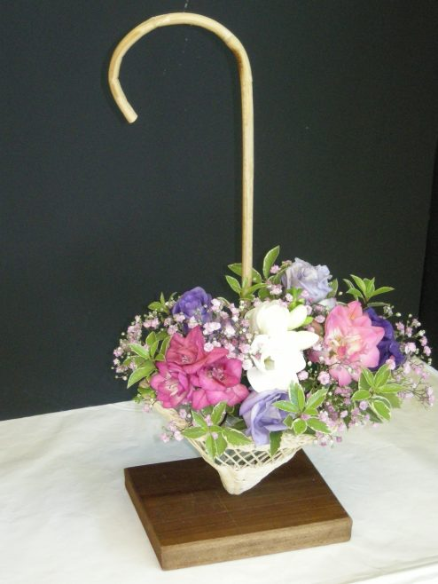 flower arranging entry | PHS member