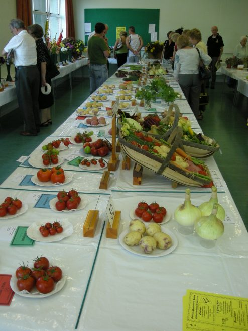 Vegetable entries | PHS member