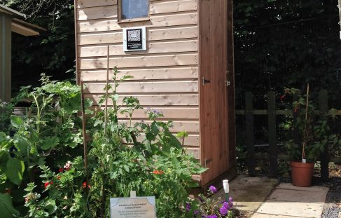 Compost toilets for allotments