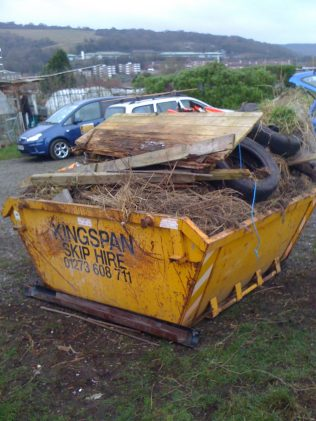 january 2011 - that filled this skip